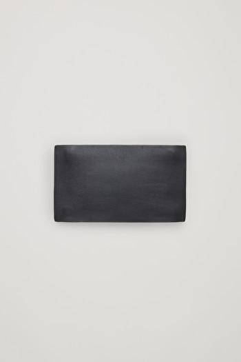 코스 더블 집업 카드지갑 COS DOUBLE-ZIP CARD HOLDER,Grey
