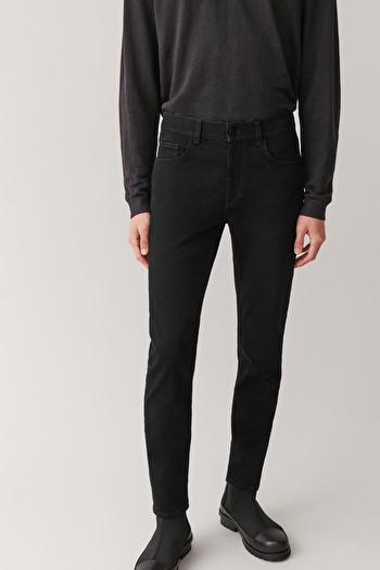 코스 맨 블랙진 COS SLIM-LEG JEANS,Black