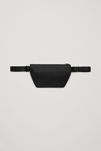 코스 맨 벨트백 COS RECYCLED TECHNICAL BELT BAG,Black