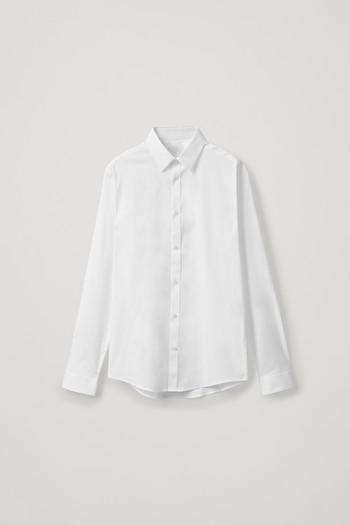 코스 클래식 슬림핏 셔츠 COS CLASSIC SLIM FIT SHIRT,White