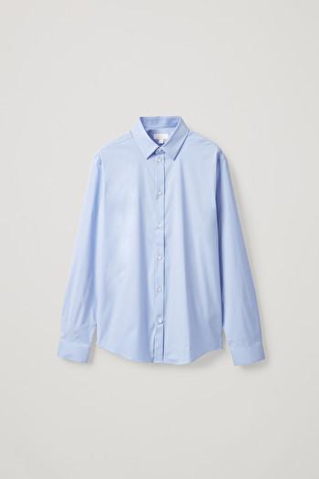 코스 클래식 슬림핏 셔츠 COS CLASSIC SLIM FIT SHIRT,Sky Blue