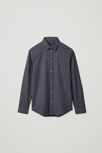 코스 슬림핏 셔츠 COS CLASSIC SLIM FIT SHIRT,Blue