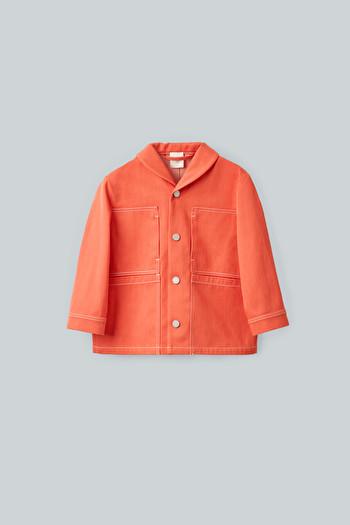 코스 자켓 COS MULTI-POCKET JACKET,Vibrant Orange