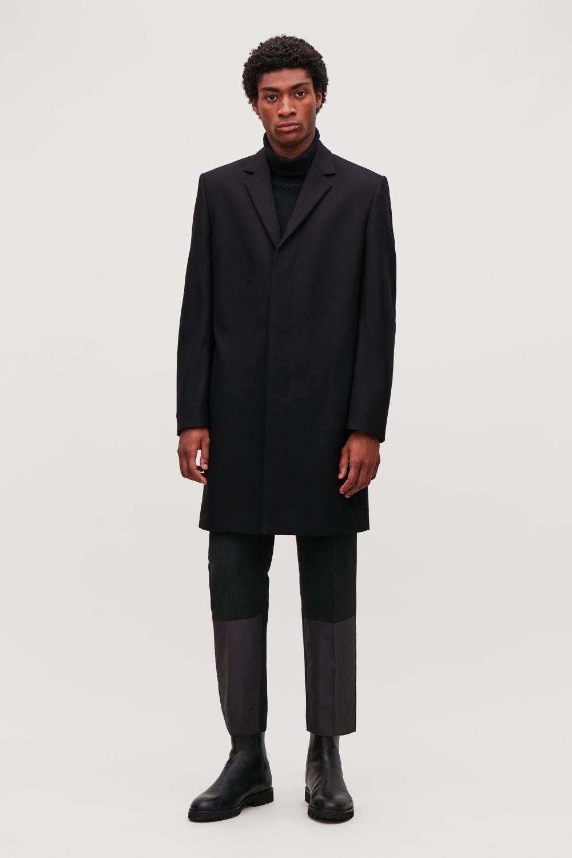 코스 COS TAILORED COAT,Black