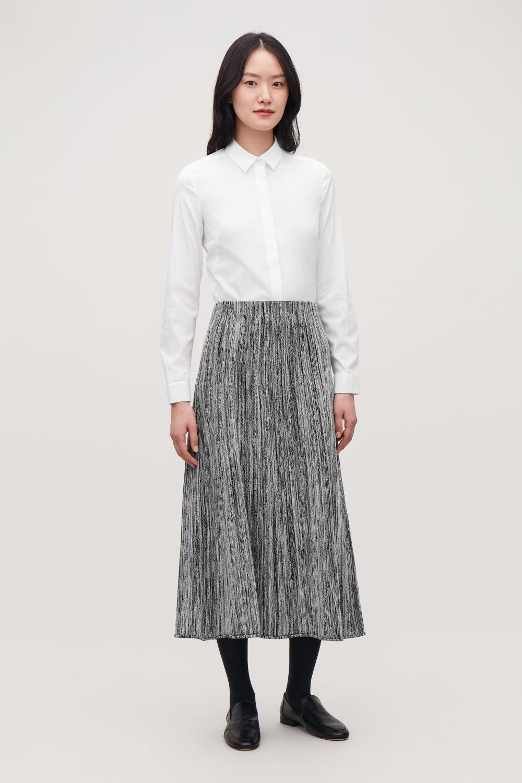 코스 셔츠 COS SLIM-FIT SHIRT,White