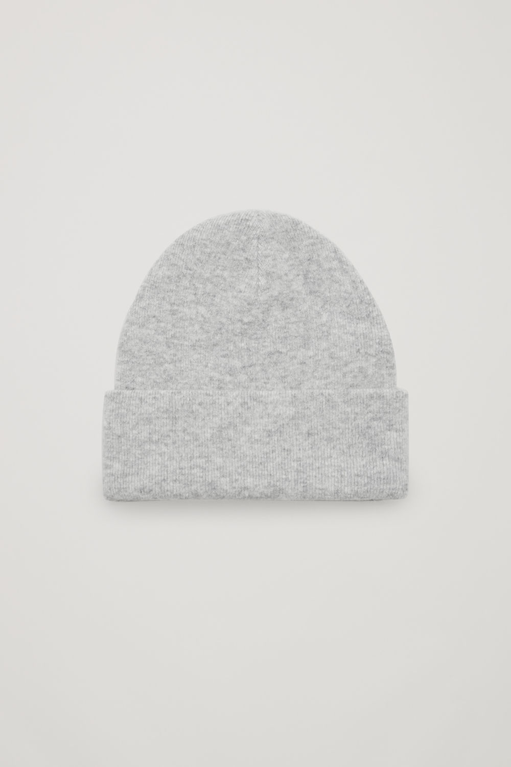 코스 COS OVERSIZED HAT,Grey melange