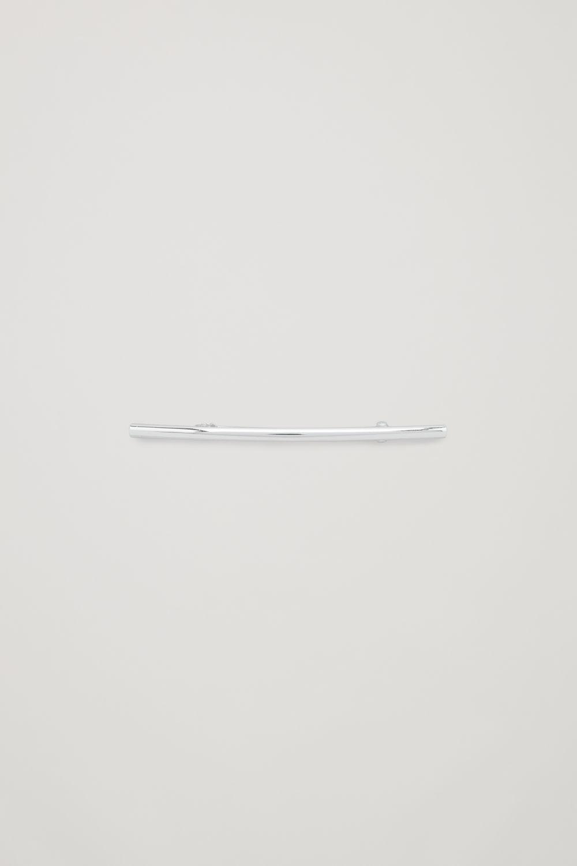 코스 COS METAL HAIR CLIP,Silver