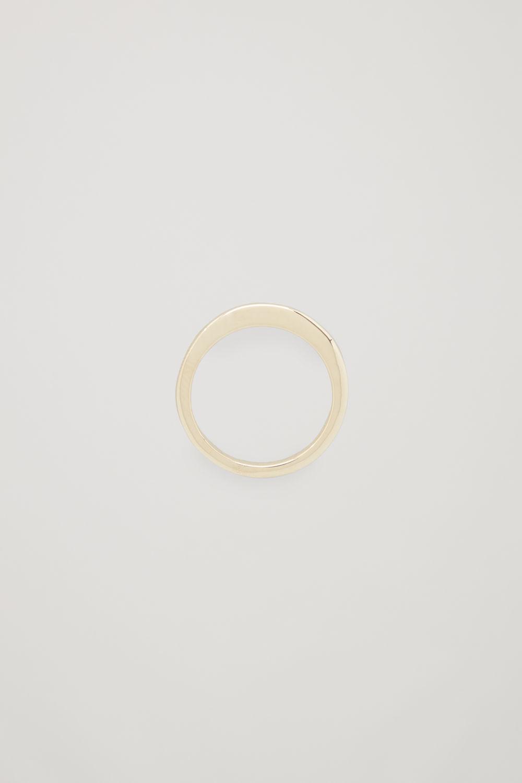 코스 COS GOLD-PLATED RING,Gold