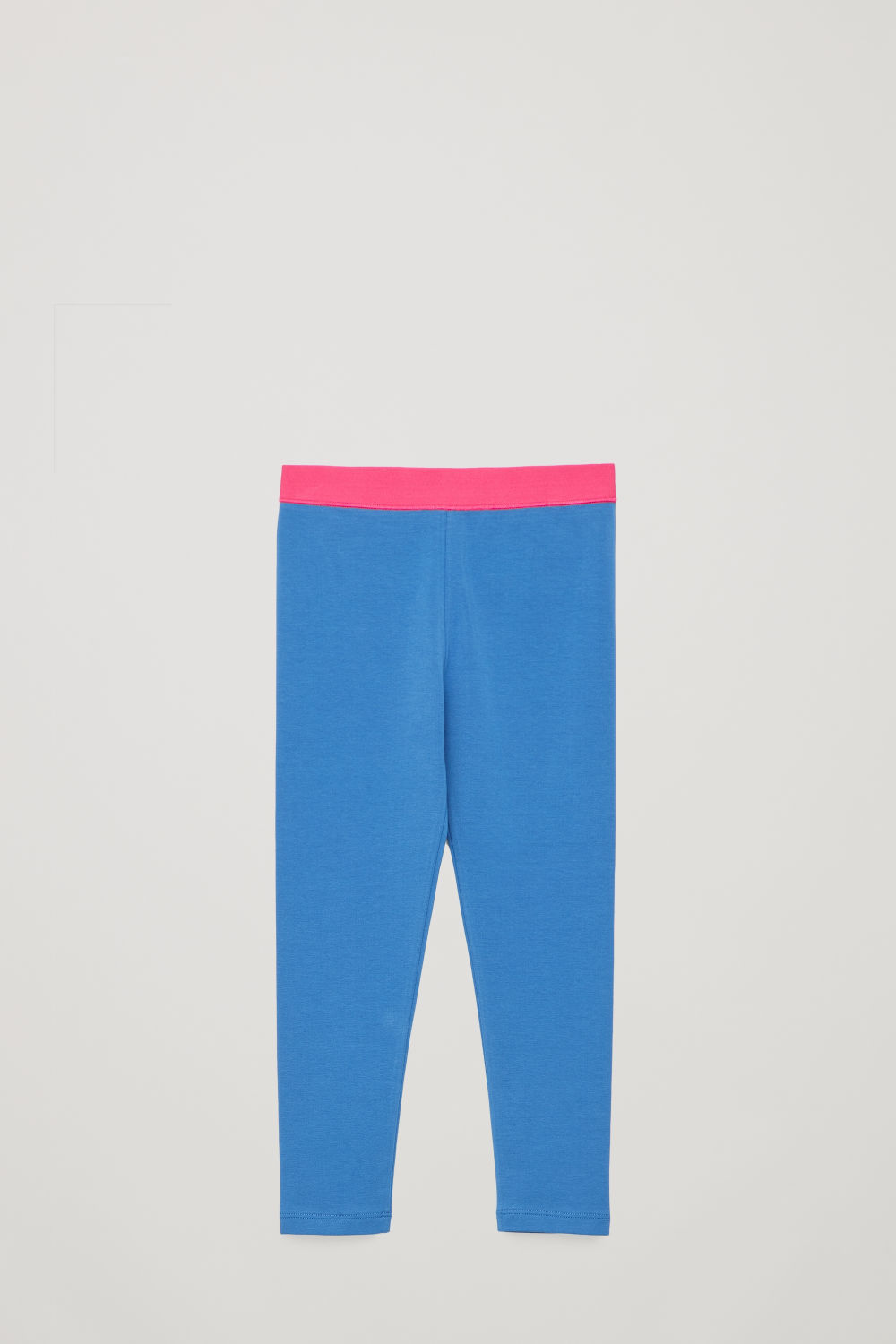 코스 보이즈 레깅스 COS COTTON JERSEY LEGGINGS,Light blue \/ pink
