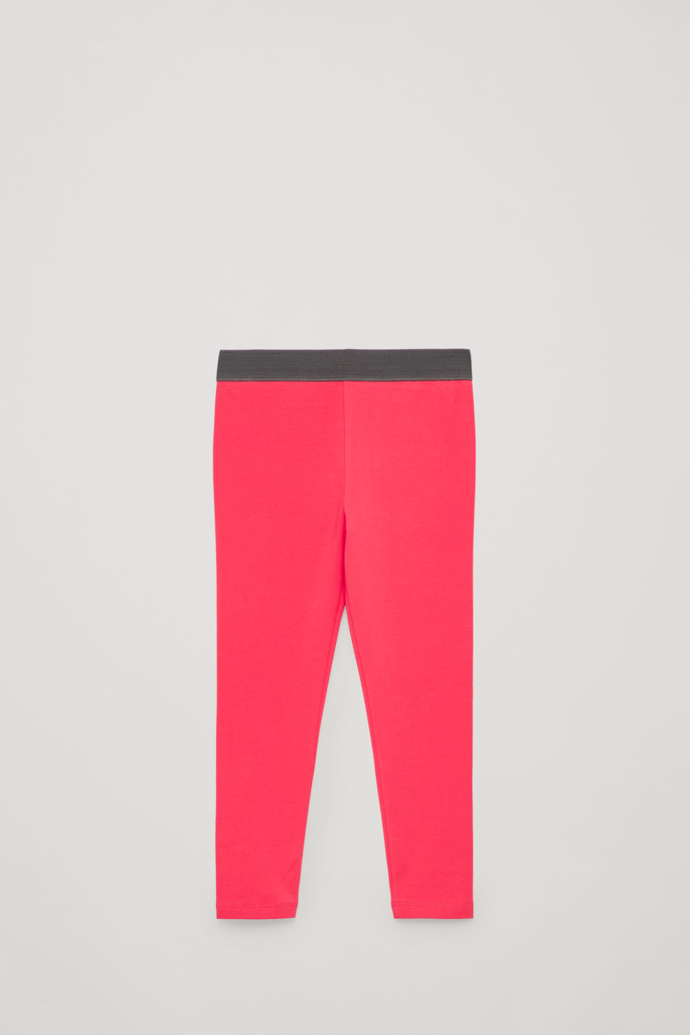코스 보이즈 레깅스 COS COTTON JERSEY LEGGINGS,Vibrant pink