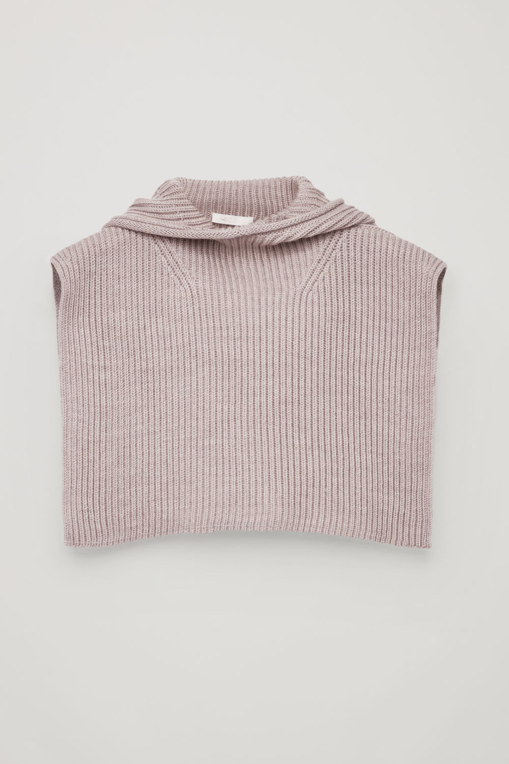 코스 COS KNITTED HOOD,Soft pink