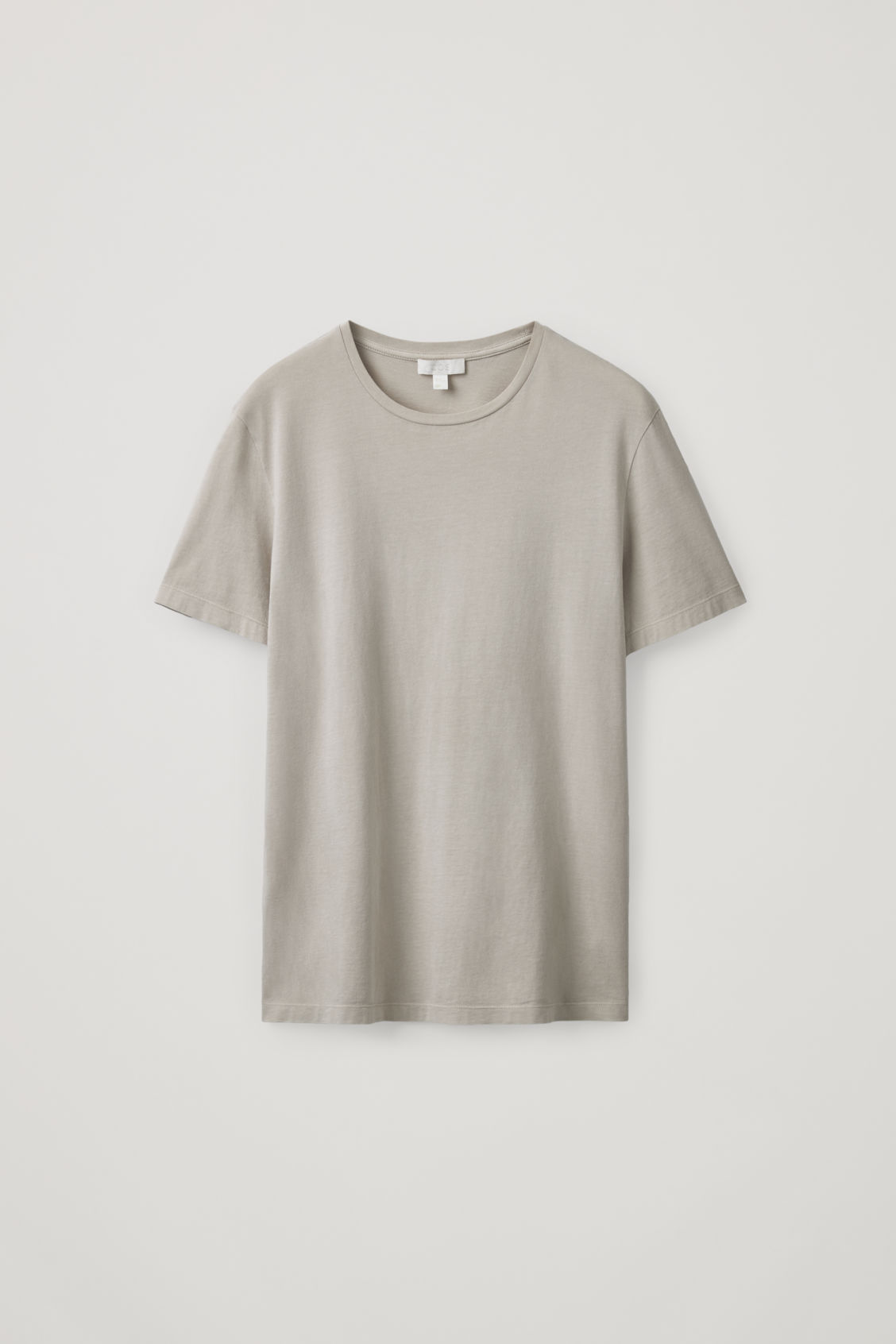 Cos Round-neck T-shirt In Brown