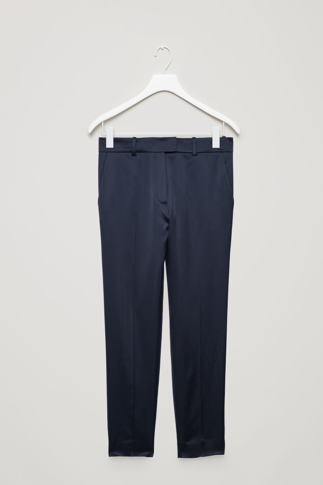 Cos SATIN TAILORED TROUSERS