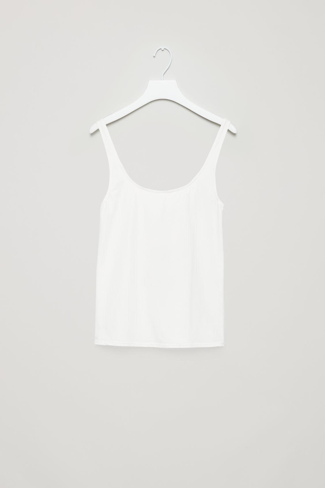 293d121a1e469 SEAMLESS VEST TOP - Black - Underwear - COS