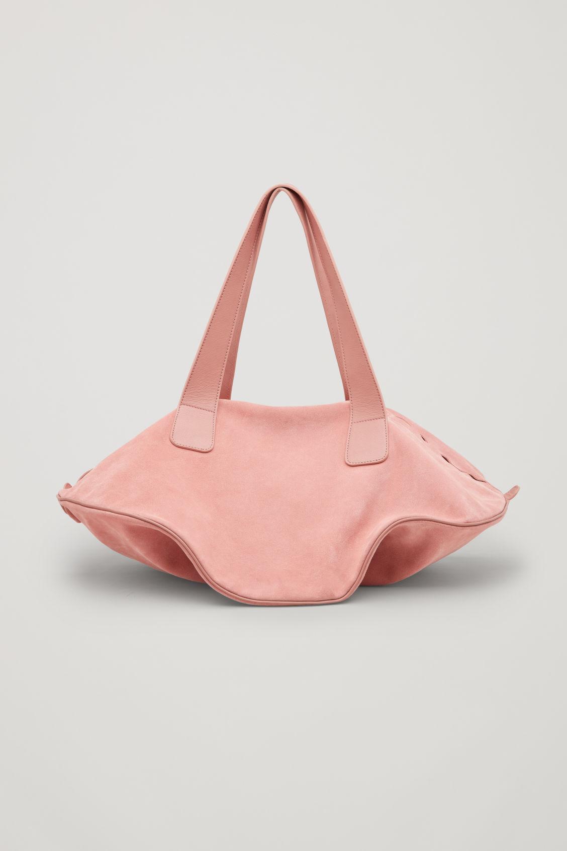 CIRCULAR SUEDE BAG
