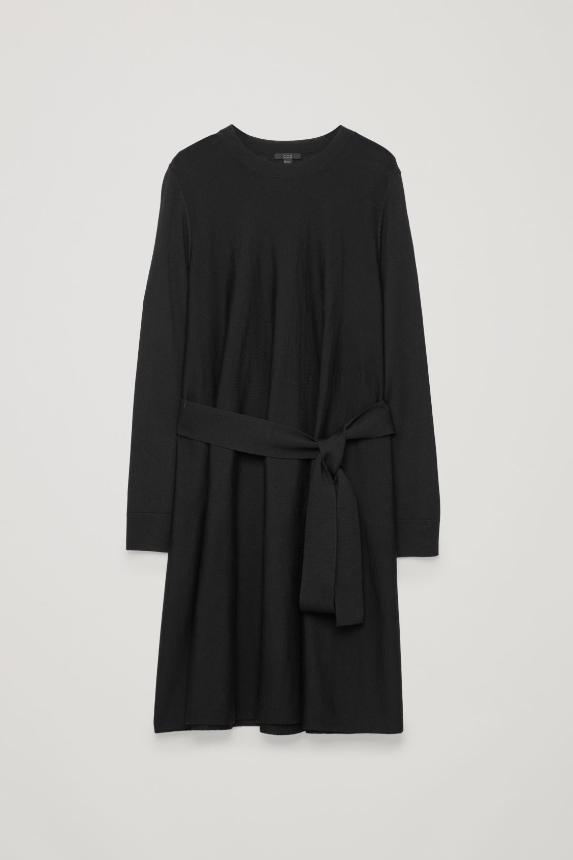 COS A-LINE MERINO-WOOL KNIT DRESS