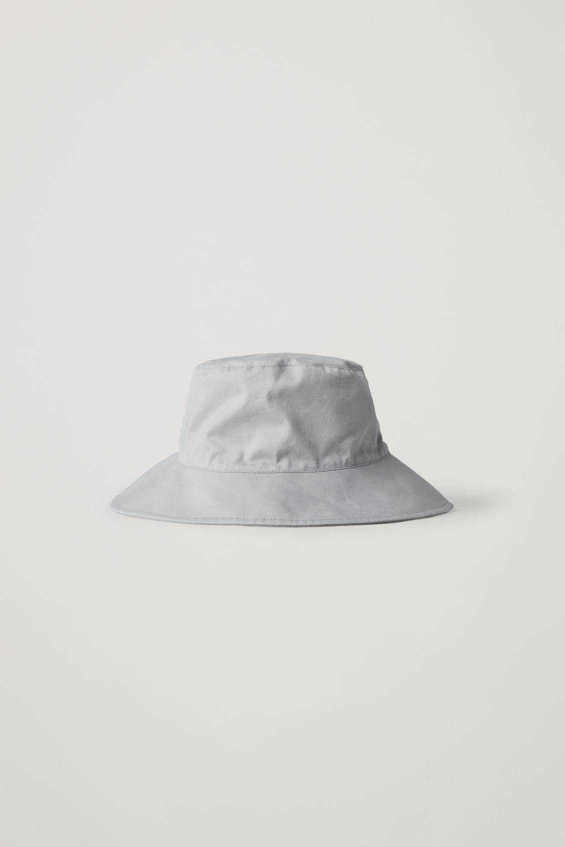 Cos Cotton Bucket Hat In Grey