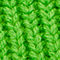 Fabric Swatch image of Cos chunky ribbed cashmere scarf in green