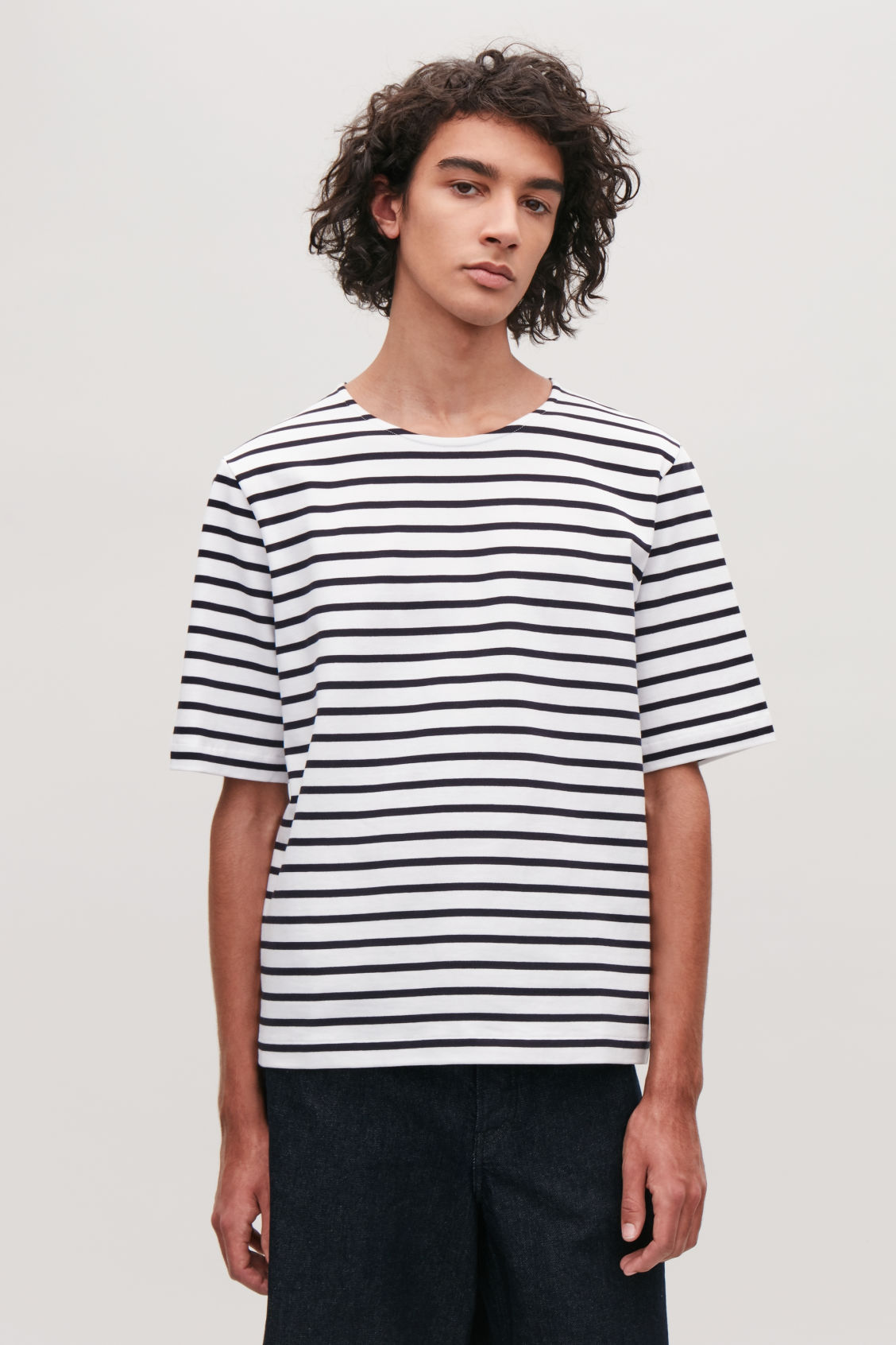 breton striped t shirt navy t shirts cos. Black Bedroom Furniture Sets. Home Design Ideas