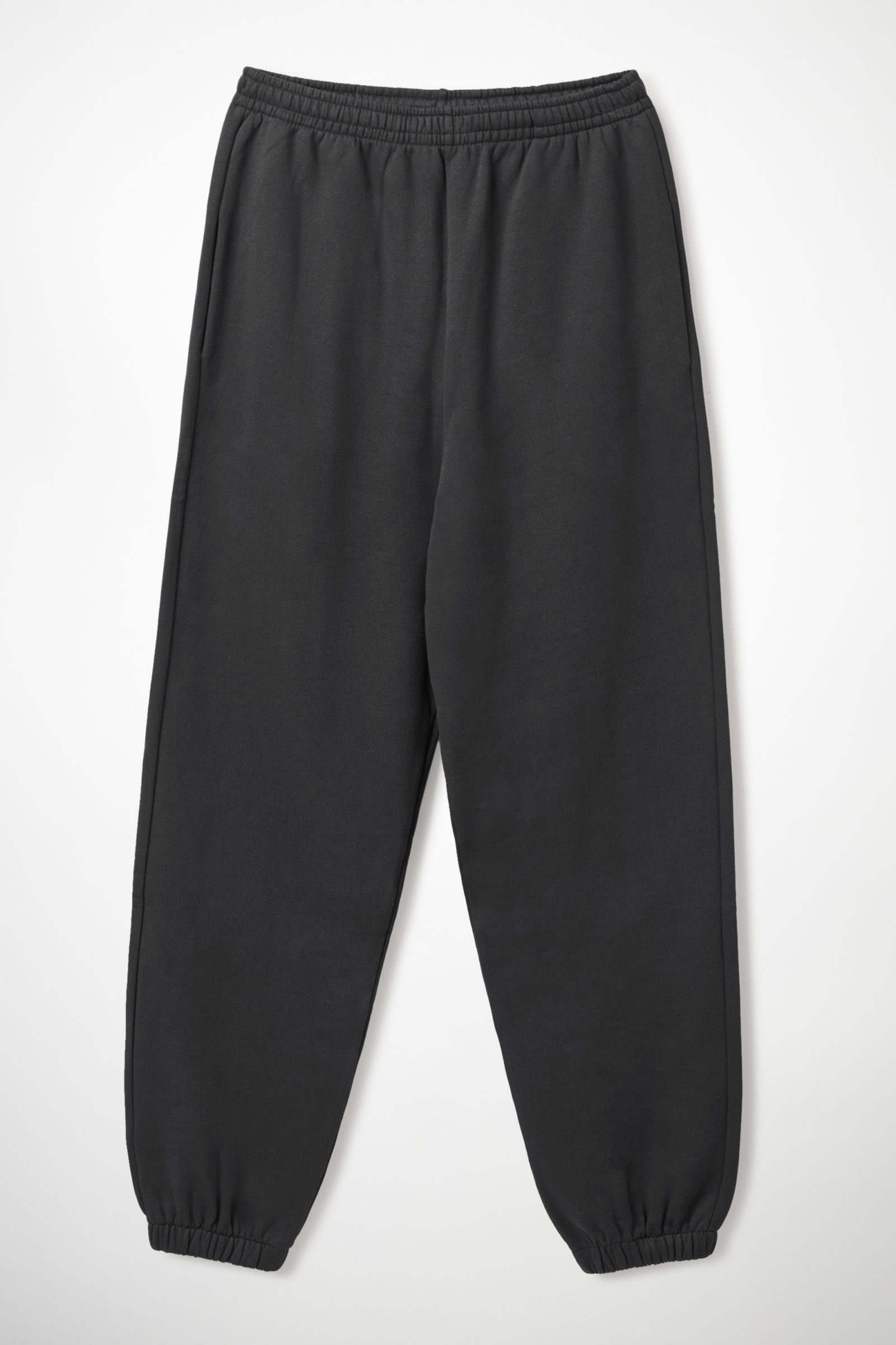 COS JERSEY JOGGERS,black