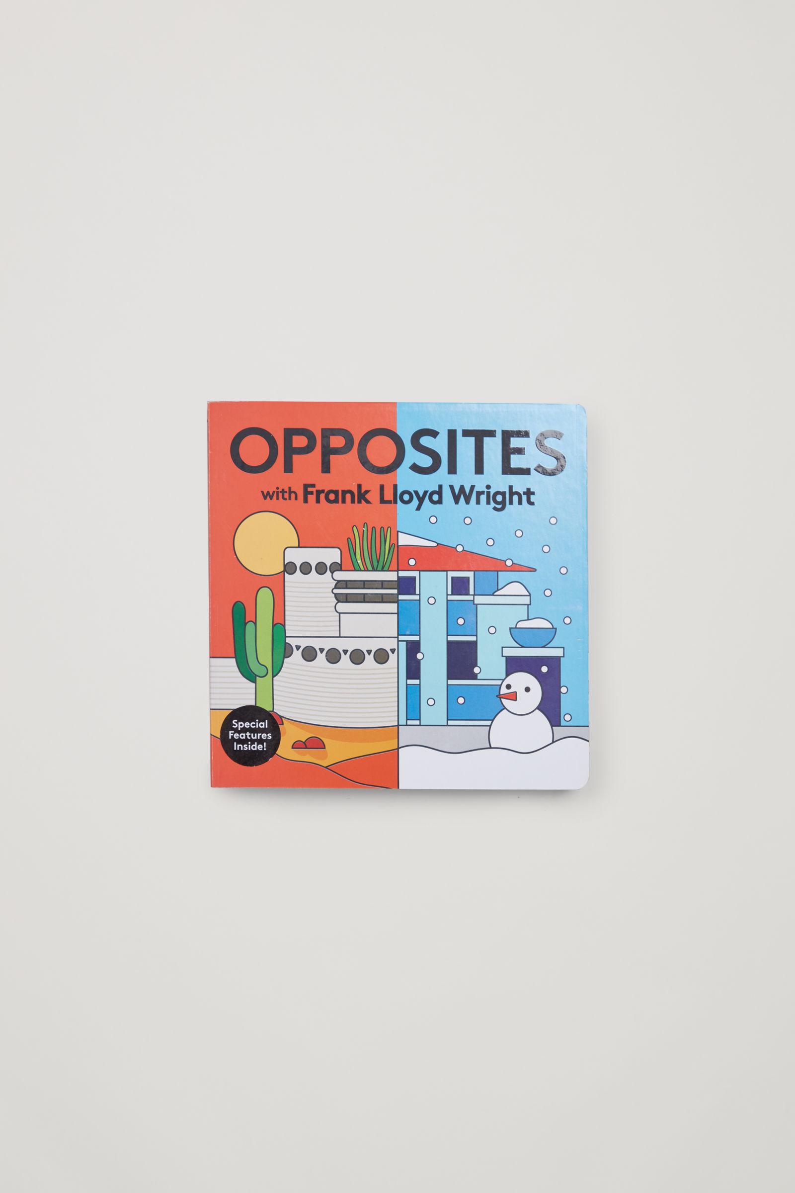 코스 키즈 반대말 학습 컬러 보드북 COS OPPOSITES WITH FRANK LLOYD WRIGHT,multicoloured