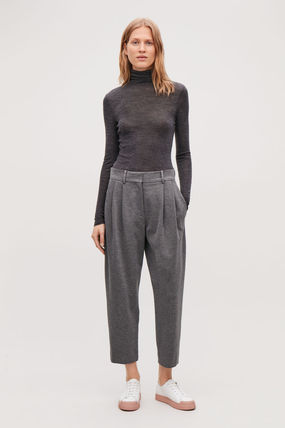 RELAXED JERSEY TROUSERS