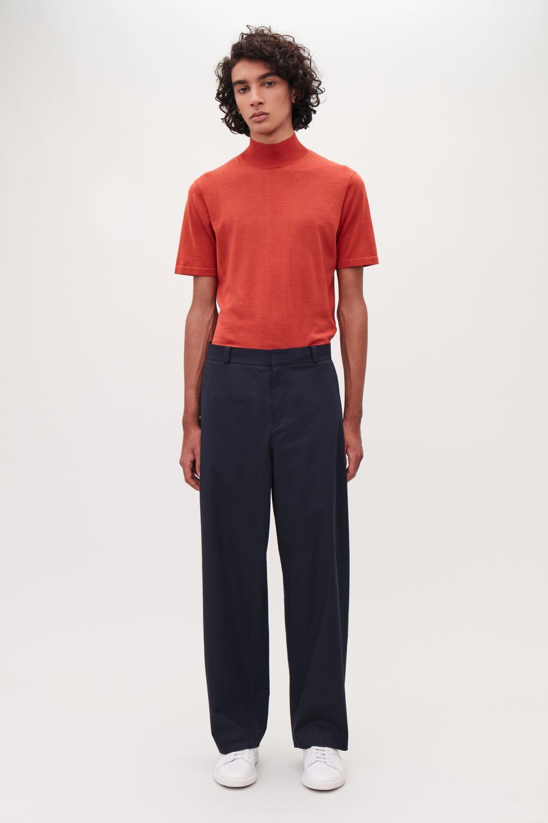 Closed Wide leg trousers NaZjuyN