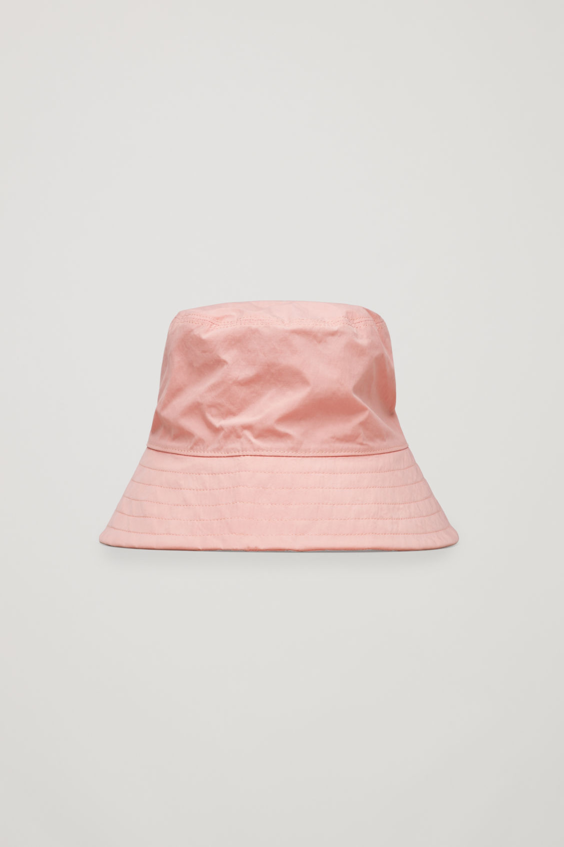 Cos Canvas Bucket Hat In Pink  ea612eecdcb