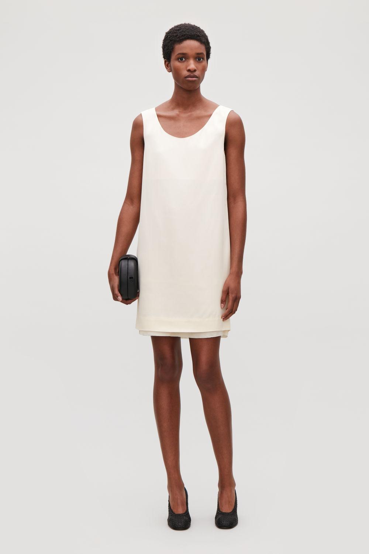 de41ccac993 SHORT SLEEVELESS DRESS SHORT SLEEVELESS DRESS