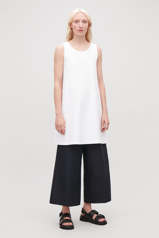 cf04ca49025 SHORT JERSEY A-LINE DRESS ...
