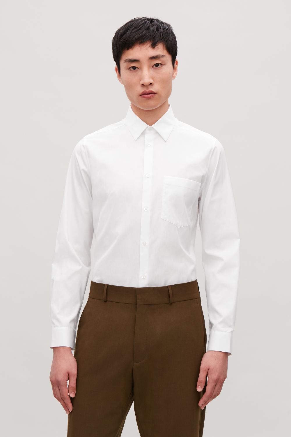 TAILORED SHIRT WITH POCKET
