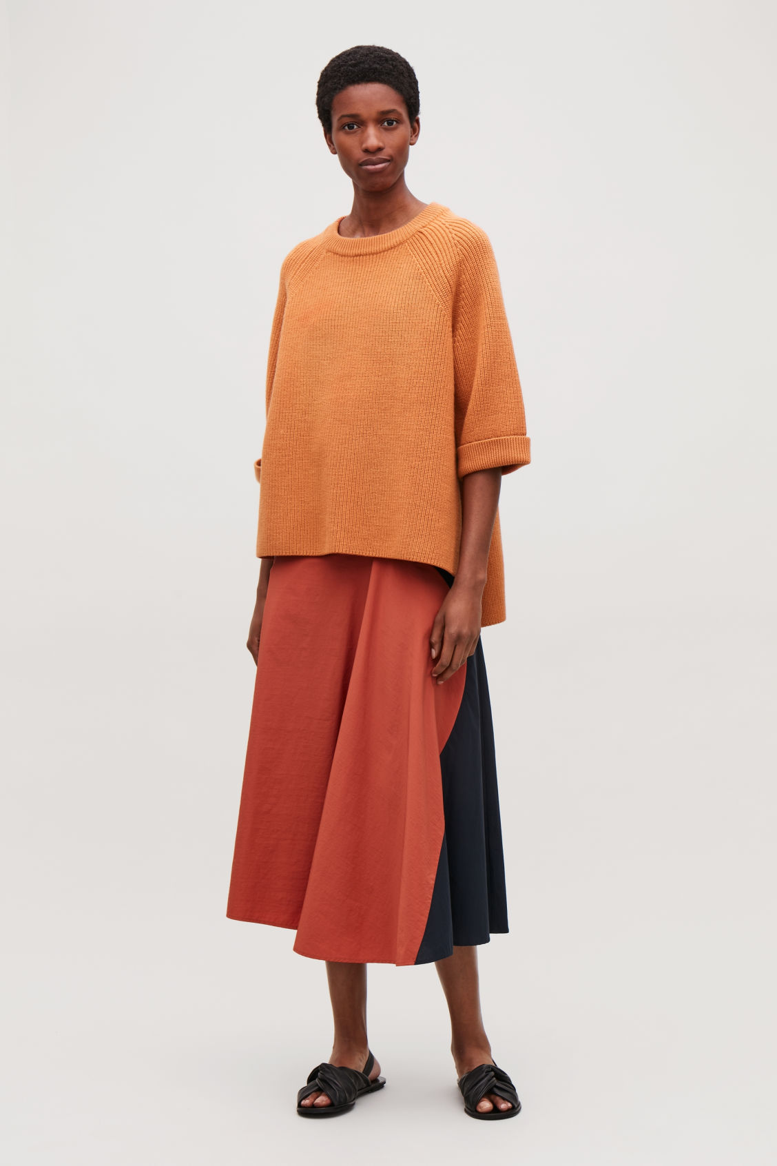 Model front image of Cos  in orange