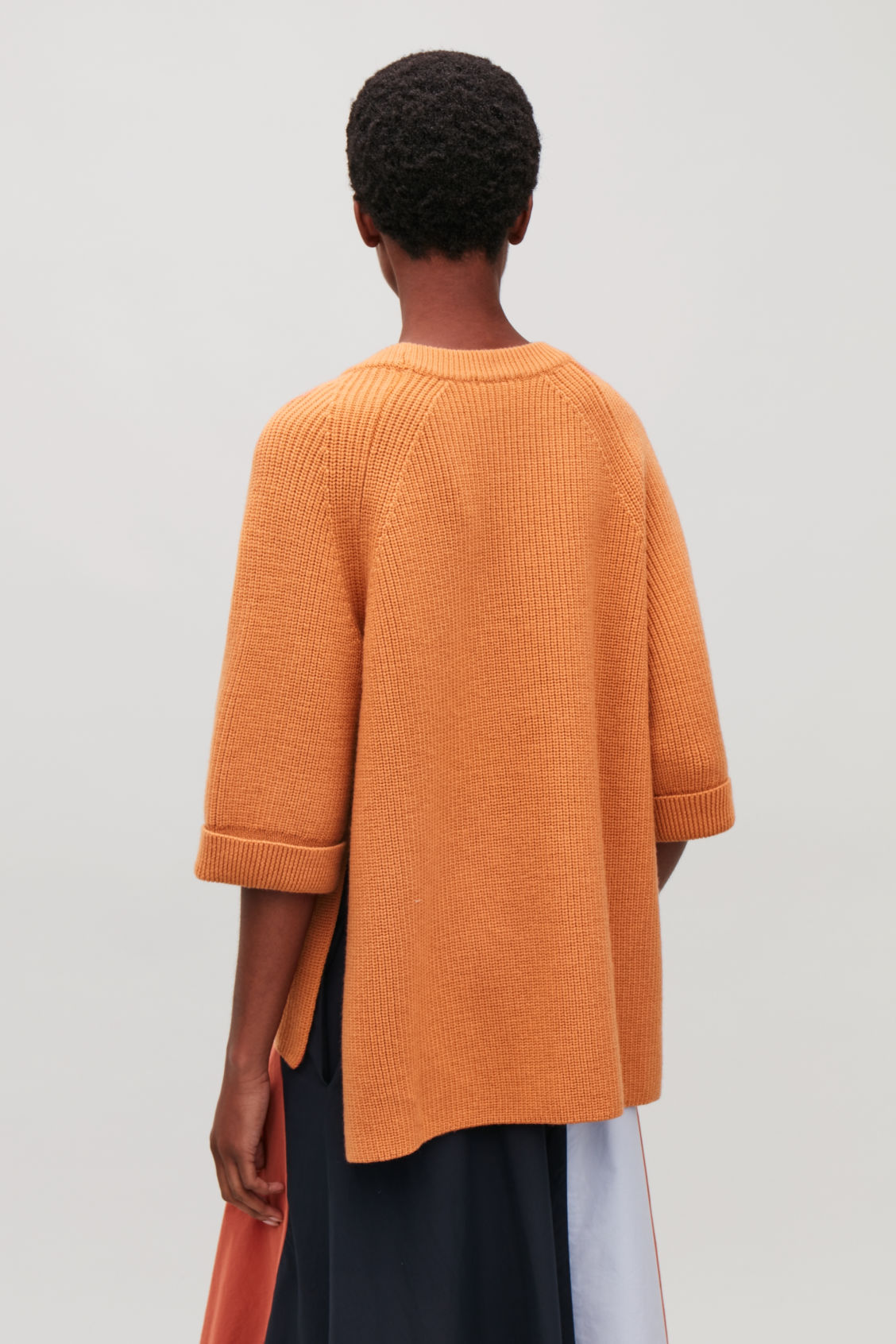 Model side image of Cos  in orange