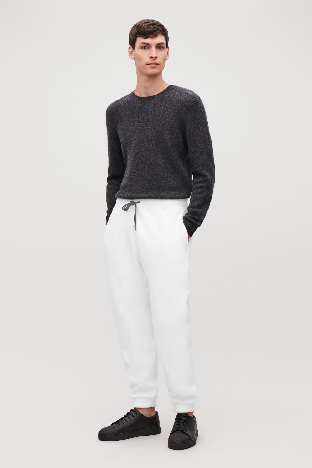 FLEECED TROUSERS