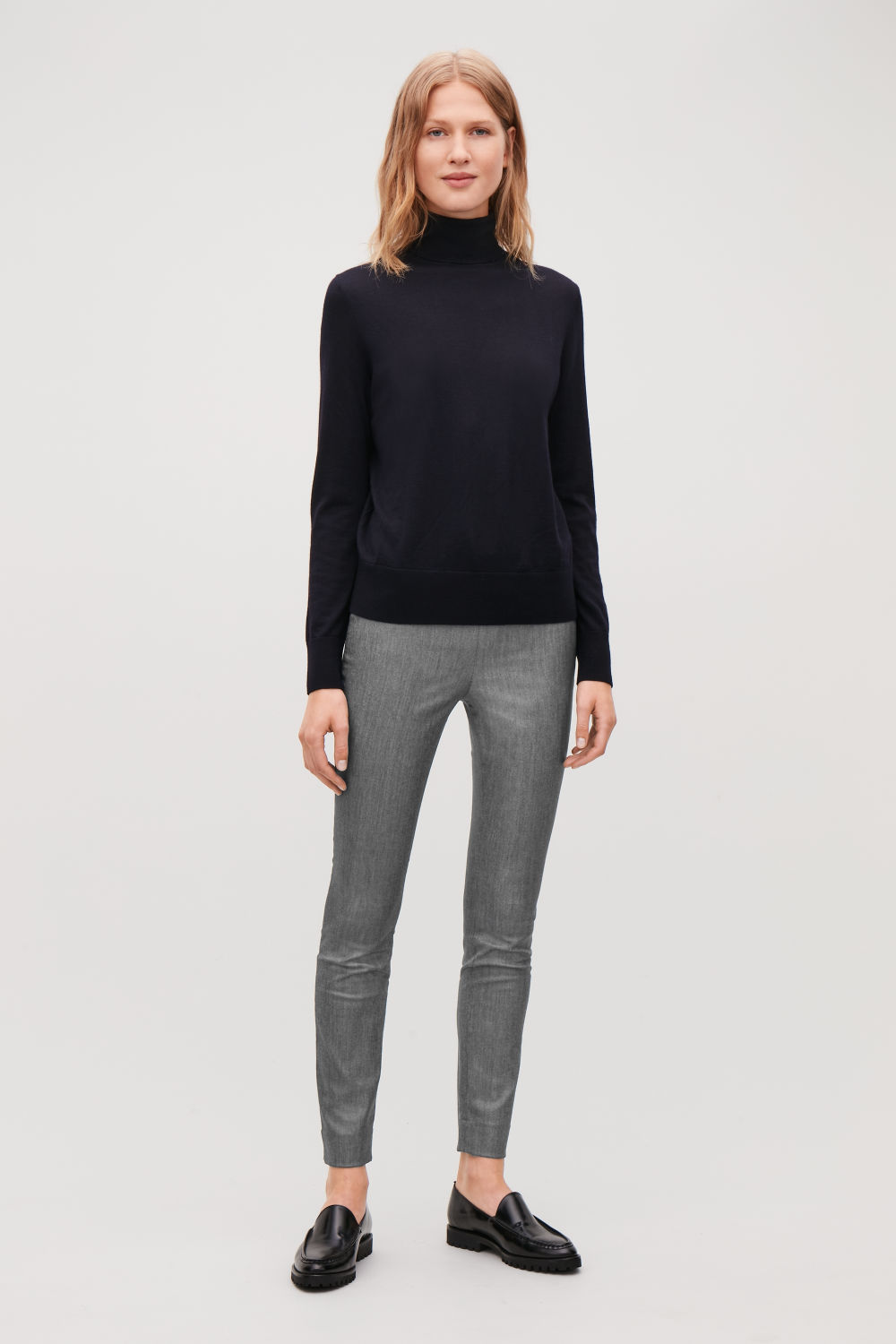 SKINNY-FIT LEGGING TROUSERS