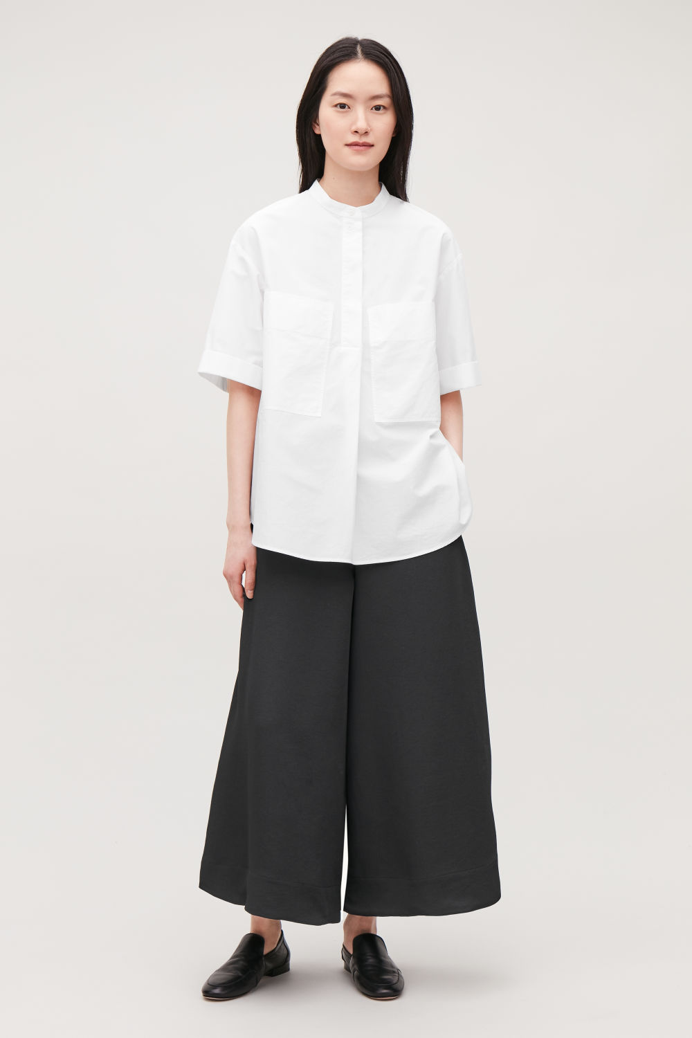 CULOTTES WITH ELASTIC WAIST