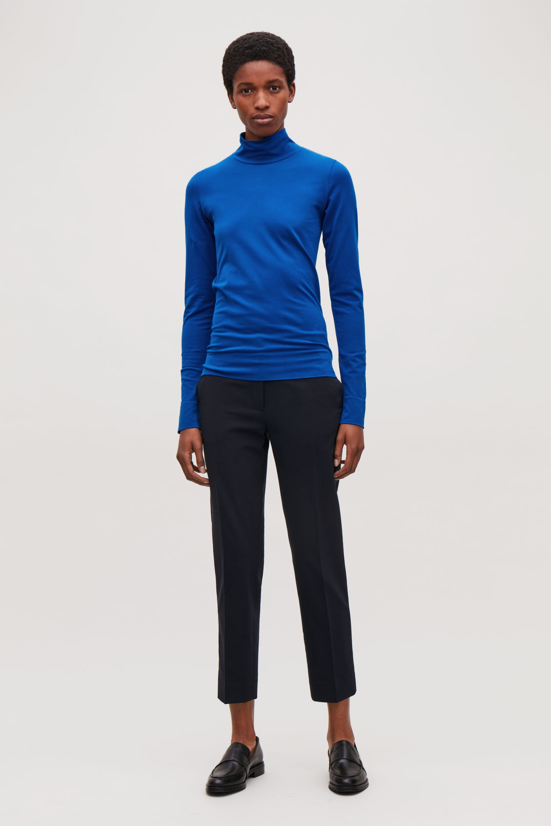 Model front image of Cos  in blue