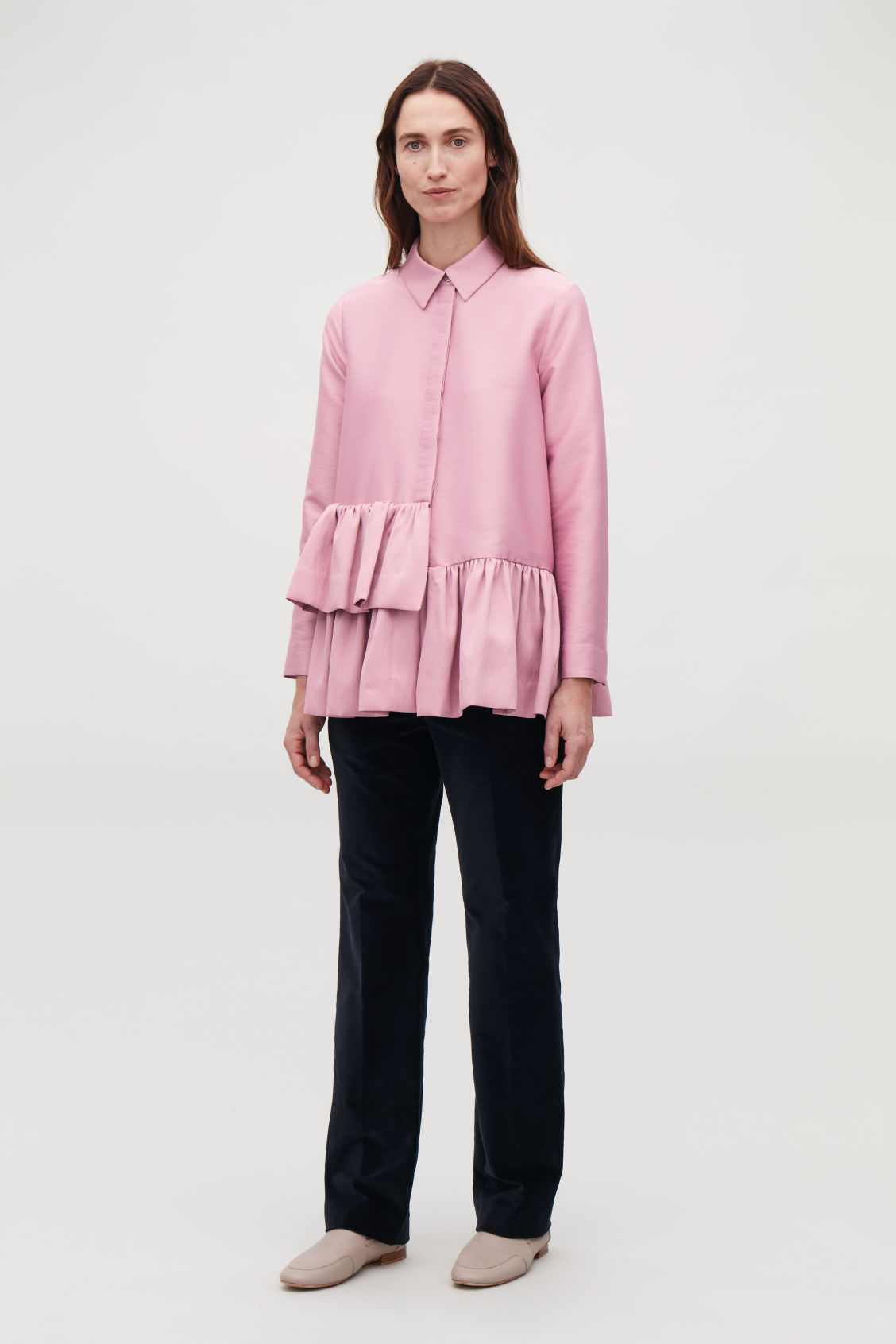 Model front image of Cos  in pink