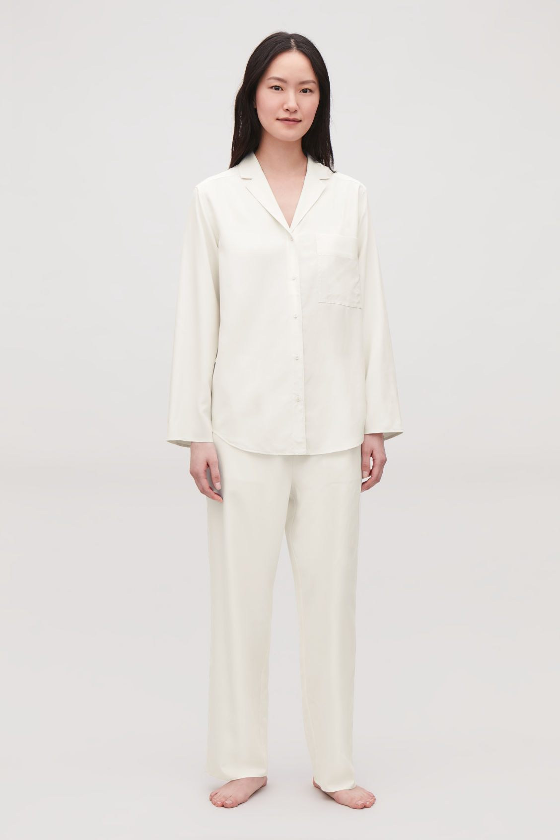 Model front image of Cos  in white