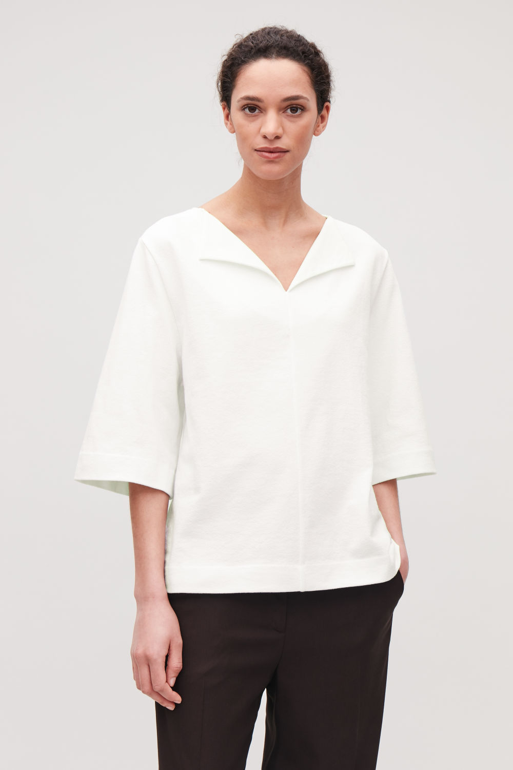 SOFT-COTTON BOXY TOP