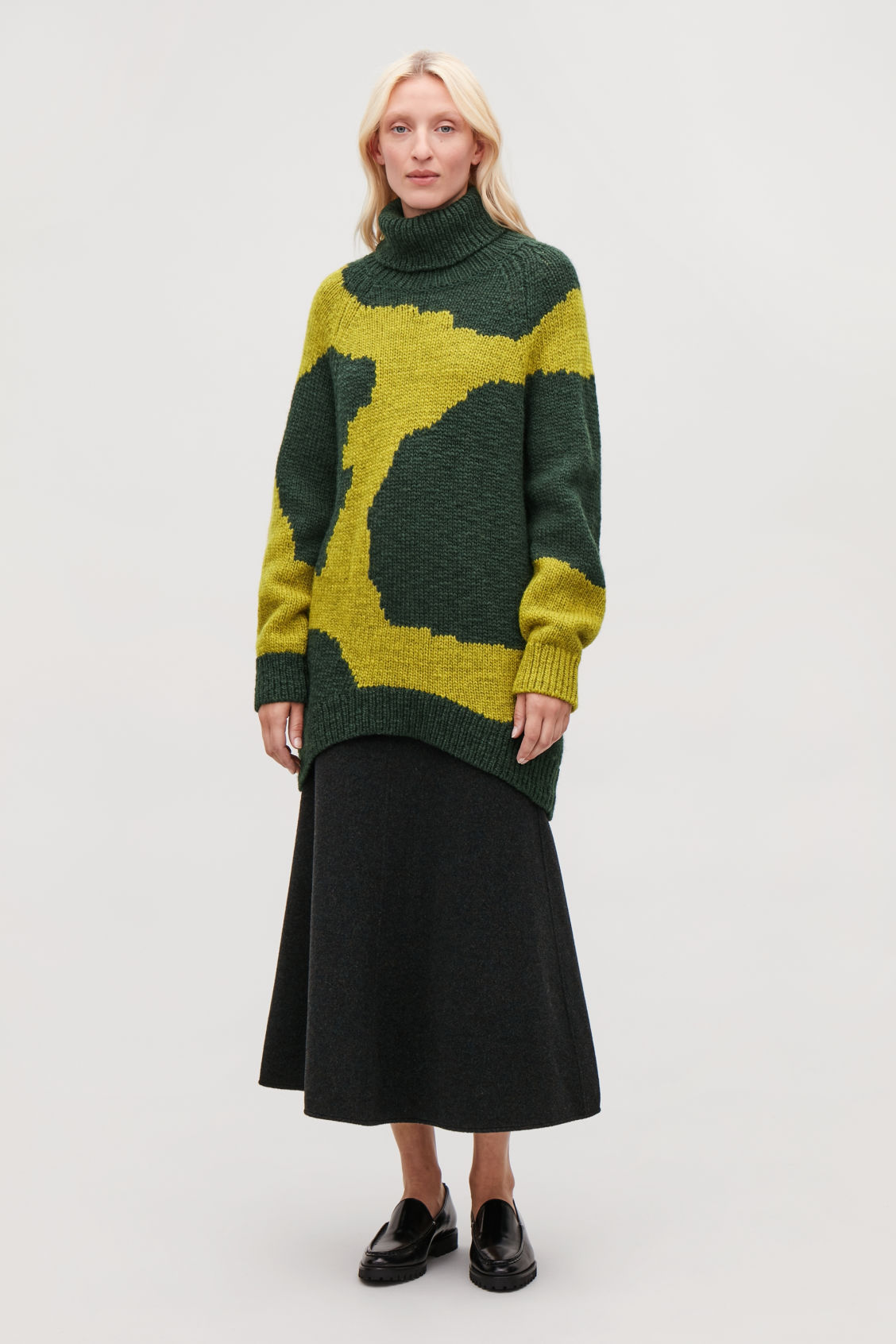 Model front image of Cos  in yellow