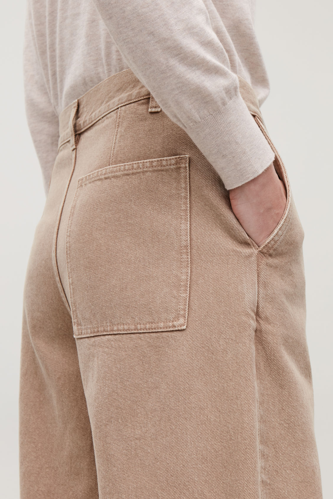 Model side image of Cos  in beige