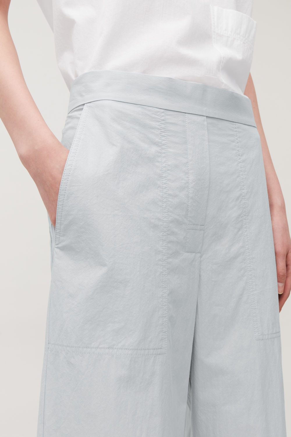 RELAXED-FIT COTTON CHINOS