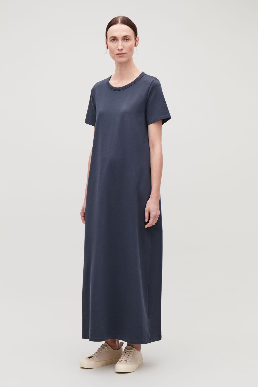 271b8be8b5e9ed LONG COCOON T-SHIRT DRESS ...