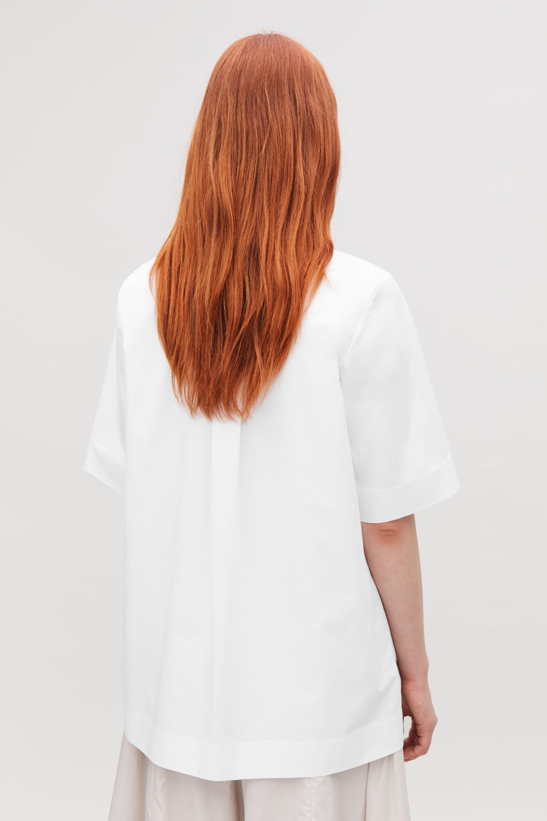 Model side image of Cos  in white