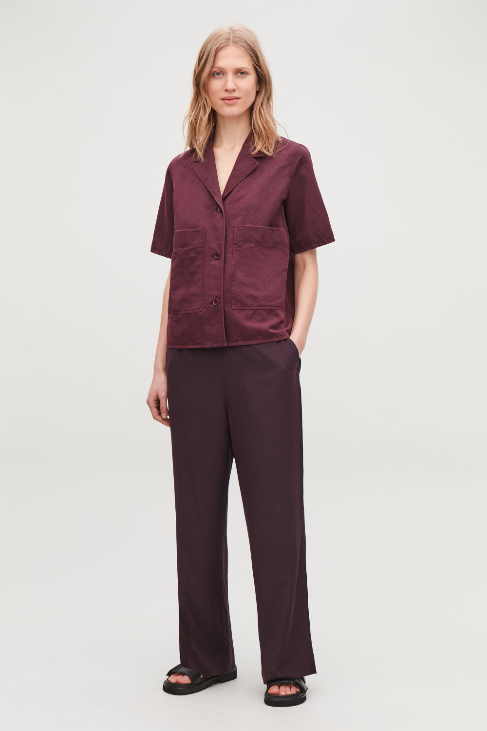 5d0c9360c8a RELAXED SILK TROUSERS RELAXED SILK TROUSERS