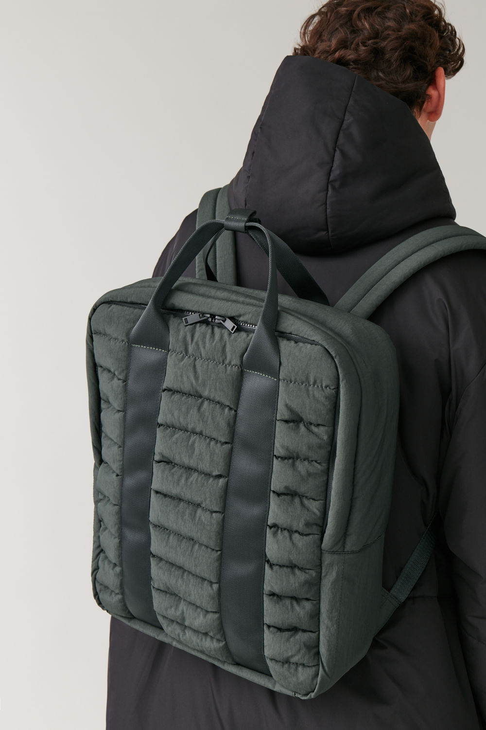 Padded Backpack by Cos