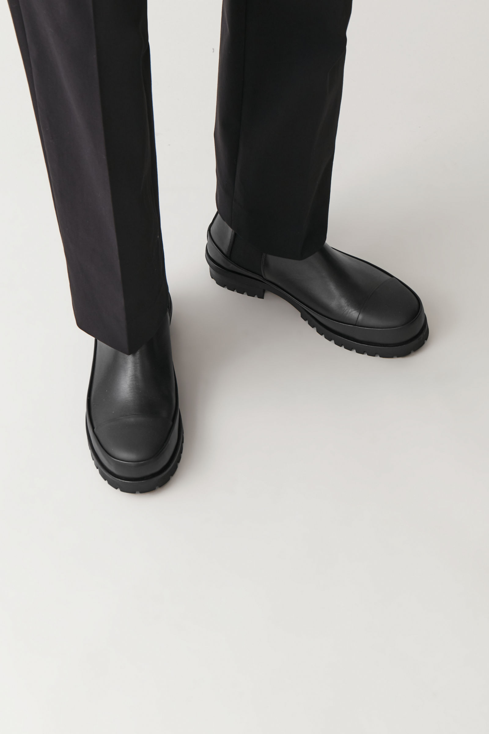 men's chunky sole boots