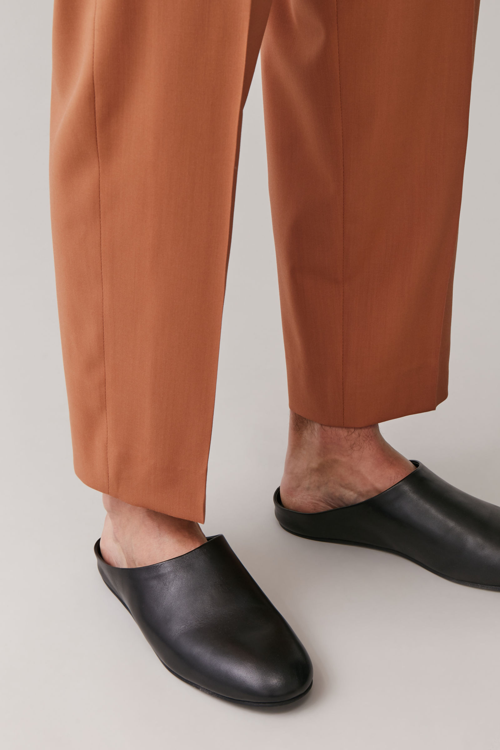 mens mule loafers