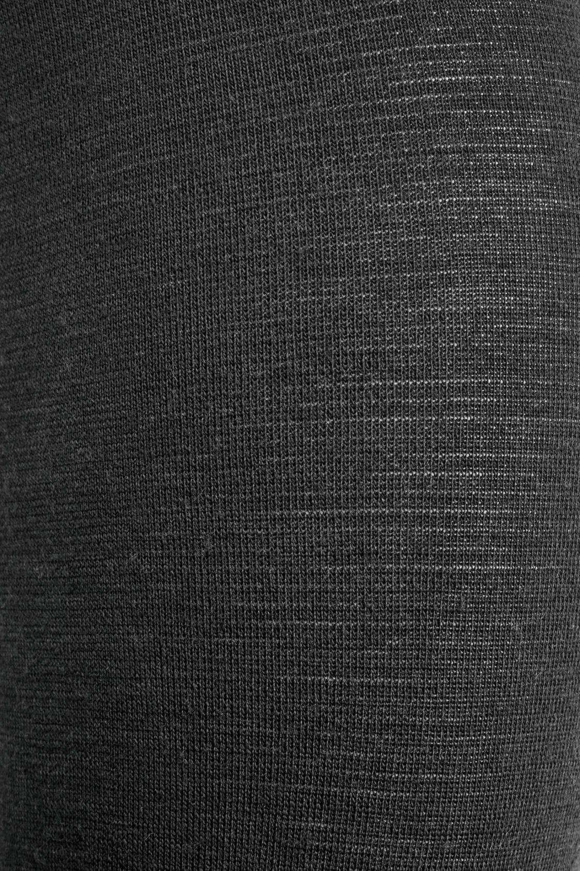 Side image of Cos wool tights in black